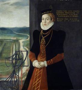 Portret van Sabina von Württemberg (1549-1581)