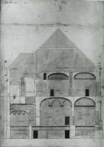 Villa Guistiniani Cambiaso: Lengtedoorsnede