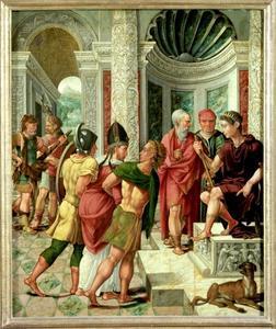 De H. Dionysius voor Fescennius