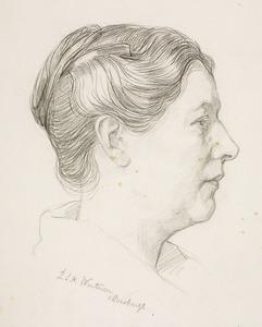 Portret van Hendrika Berendina Wolters (1876-1958)