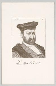 Portret van Max Joseph Adolph Conrat (1848-1911)