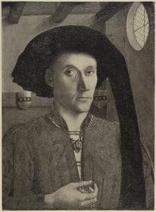 Portret van Edward Grimston of Rishangles, (...- 1478)
