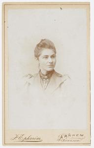 Portret van L. Nauta