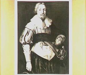 Portret van Watze van Cammingha (1602-1686), echtgenoot van Sjouck van Aebinga (I) en Anna van Wijtsma (II)