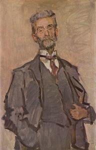 Portret van de kunstenaar en criticus Willem Steenhoff (1863-1932)