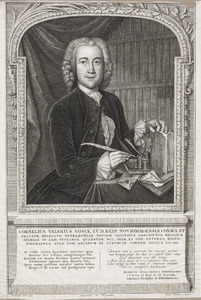 Portre van Cornelius Valerius Vonck (1724-1768)