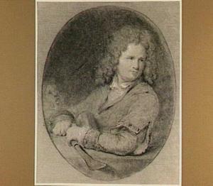 Portret van de beeldhouwer Hendrik Noteman (1657-1734)