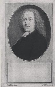 Portret van Joannes Houbakker (1685-1715)