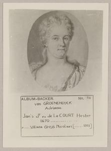 Portret van  Adriana Maria van Groenendijck (1671-1702)