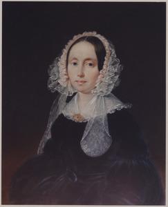 Portret van een vrouw, mogelijk Angenita Theodora Eilbracht (1801-1888)