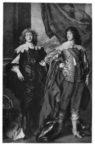 Dubbelportret van George Digby, 2nd Earl of Bristol (1612-1677) en William Russell, 5th Earl and 1st Duke of Bedford (1616-1700)