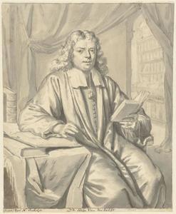 Portret van Ds. Hugo van der Helst (1657-1727)