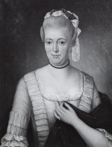 Portret van Susanna Geertruida Cock (1742-1791)