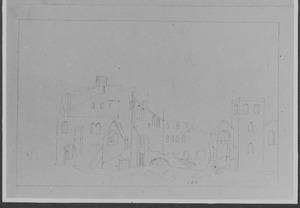 Abdij Koningsveld bij Delft anno 1573