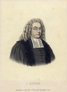Portret van Johannes Heijman (1667-1736)