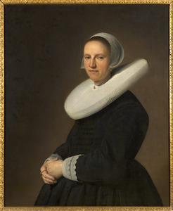 Portret van Adriana Croes (1599-1656)