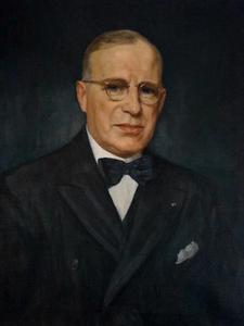 Portret van Johannes Everts (1882-1954)