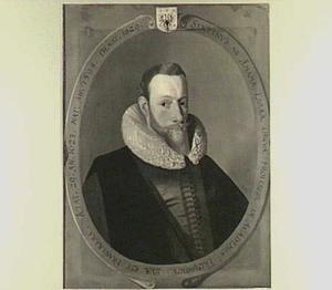 Portret van Sixtinus Amama (1593-1629)