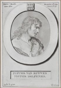 Portret van Pieter Jansz. van Ruyven (1651-1719)