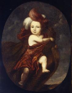 Portret van een onbekende jongen als Ganymedes