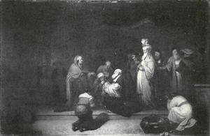 De presentatie van Christus in de tempel