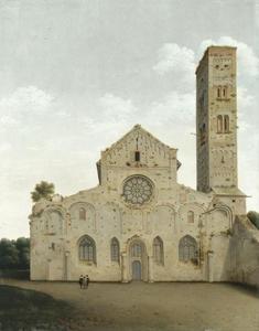 De westgevel van de Mariakerk te Utrecht