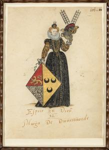 Portret van Maria van Duvenvoirde (?-1606)