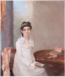 Portret van Rachel da Costa Gomez de la Penha (1778-1838)