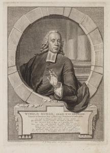 Portret van Winolt Budde (1715-1790)