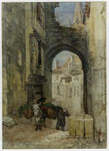 Straatje in St. Emilion