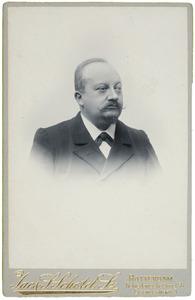 Portret van dhr. Frederik Hendrik d' Aulnis de Bourouill (1848-1928)