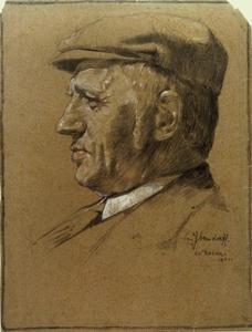 Portret van Jan Hamdorff (1860-1931)