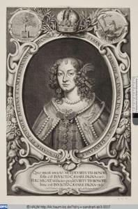 Portret van keizerin Eleonora (1630-1686)