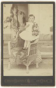 Portret van Adelheid Anna Beatrix van der Poorten Schwartz (1888-1944)