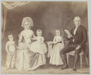 Portret van de familie van Jacob Verheye van Citters (1753-1823)