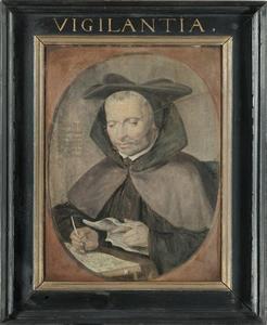 Portret van Jacobus Jansonius (1547-1625)