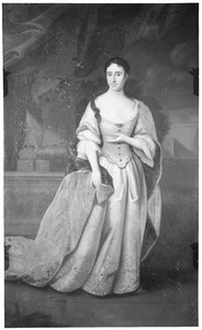 Portret van Henriette van Nassau -Zuylestein ( -1759)