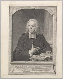 Portret van Johannes Plevier (1685-1762)