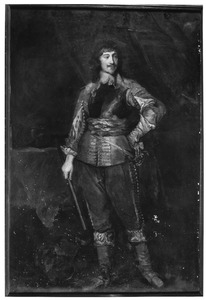 Portret van Mountjoy Blount, 1st Earl of Newport (?-1666)