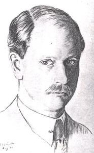 Portret van Robert Aernout van Lynden (1882-1953)