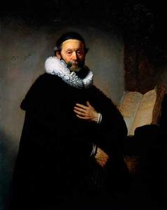Portret van Johannes Wttenbogaert (1587-1644)