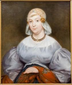 Portret van Eelkje Wigles Visser (1788-1859)