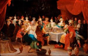 Het feestmaal van Belsazar
