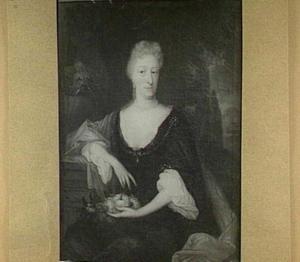 Portret van Margaretha van Groenendijk, echtgenote van Melchior Sebastiaan van den Kerckhoven