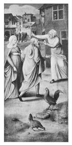 Maria en Jozef wordt onderdak geweigerd