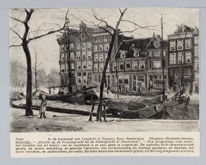 Gezicht op de Prinsengracht bij de Bloemgracht te Amsterdam