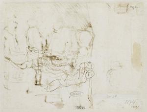Onthoofding van de H. Johannes de Doper (verso)