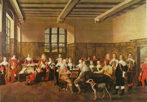 Viola da gamba concert aan het hof van hertog August de Jongere van Braunschweig-Lüneburg
