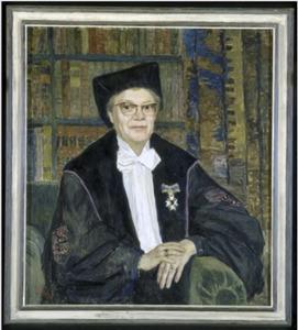 Portret van C.G. (Cornelia Gerarda) van Arkel (1902-1980)