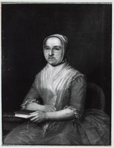 Portret van een vrouw, mogelijk Balthasarina Johanna Pasques de Chavonnes (1724-1795)
